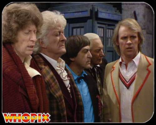 The Five Faces Of Dr Who [almost]