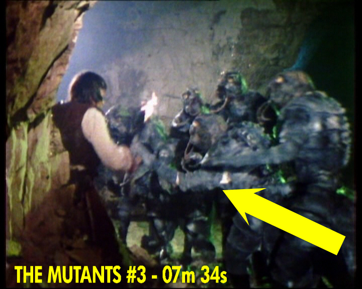 """watch thou for the mutants Forward by joseph strorm in the form of the signs reading phrases of antipathy  like """"only the image of god is man,"""" """"watch thou for the mutant."""