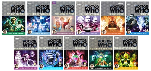 Colin Baker DVD January 2013