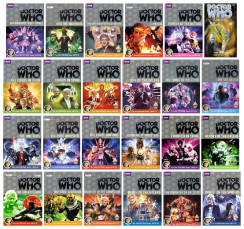 Pertwee DVD January 2013