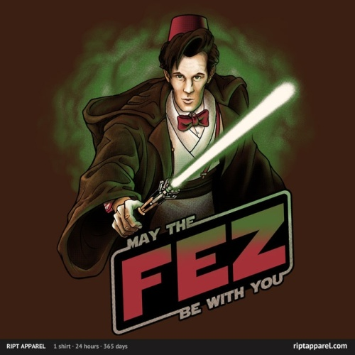 doctor who fez lightsaber star wars