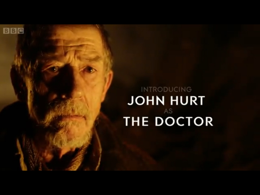 John Hurt IS The Doctor!