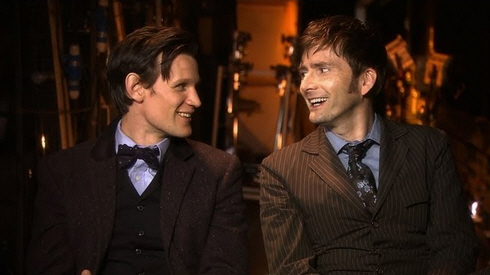 matt smith david tennant fiftioeth anniversary