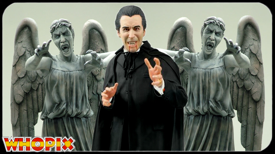 count dracula weeping angels hammer horror doctor who
