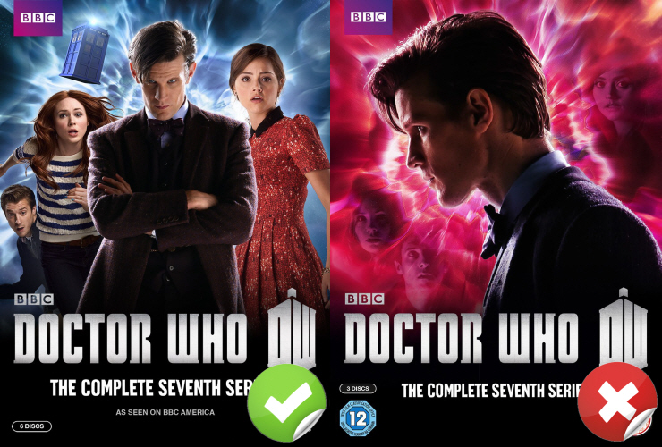 doctor who series 7 box sets
