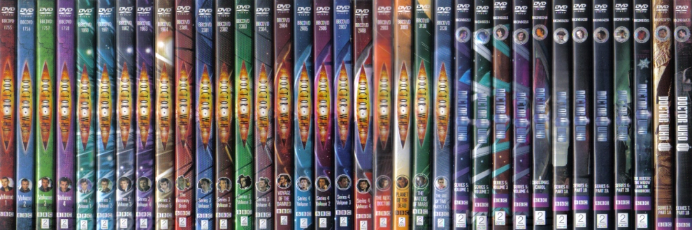doctor who vanilla dvd releases