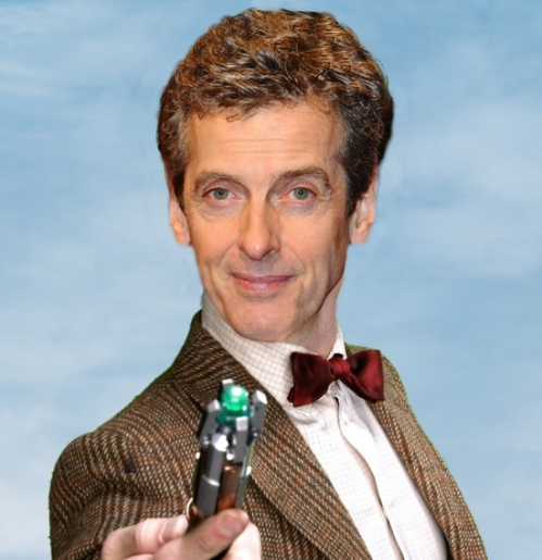 Peter Capaldi Doctor Who 2014