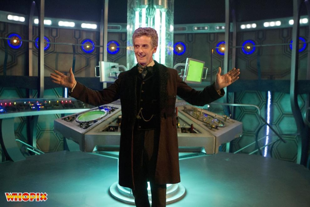 PETER CAPALDI TARDIS
