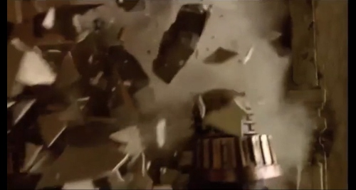 day of the doctor dalek crash