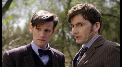 day of the doctor trailer two doctors