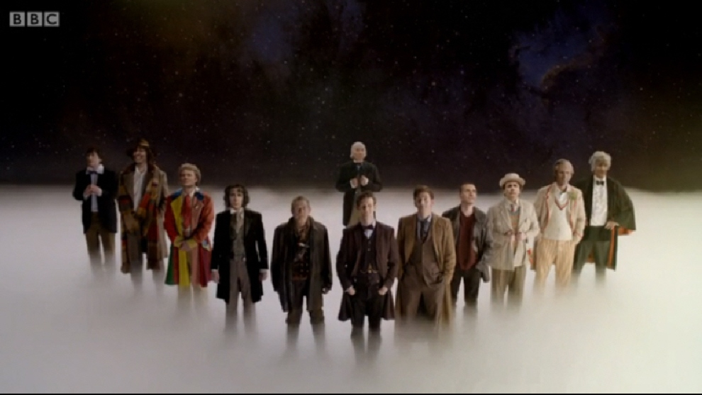 Dr Who All The Doctors
