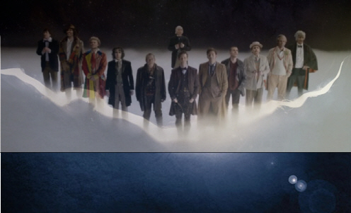 Dr Who Crack In Time Doctors
