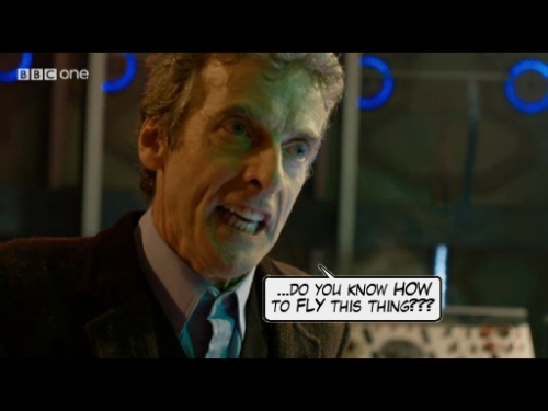 Peter Capaldi Doctor Who 12