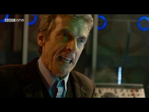 Peter Capaldi Doctor Who Tardis 02