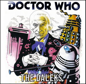 THE DALEKS CD COVER