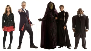 Doctor Capaldi and The Paternoster Gang