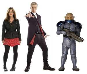 Doctor Capaldi and The Sontarans