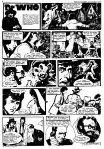 Dr Who Mutant Strain 3