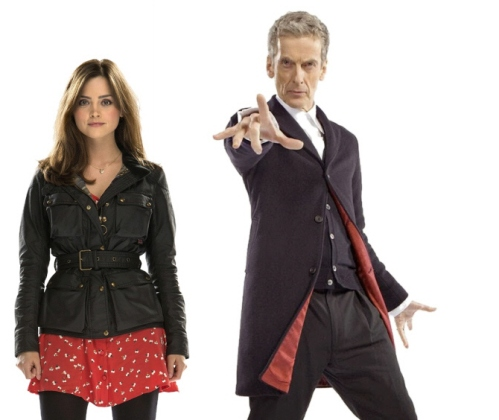 doctor capaldi and clara 2014