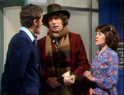 Doctor Who Sarah Jane and Harry