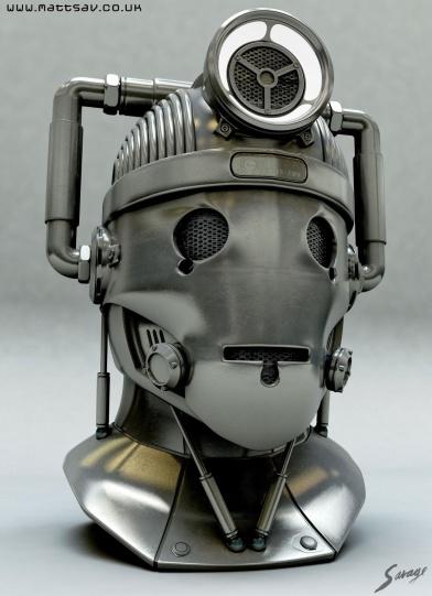 Cyberman by Matthew Savage