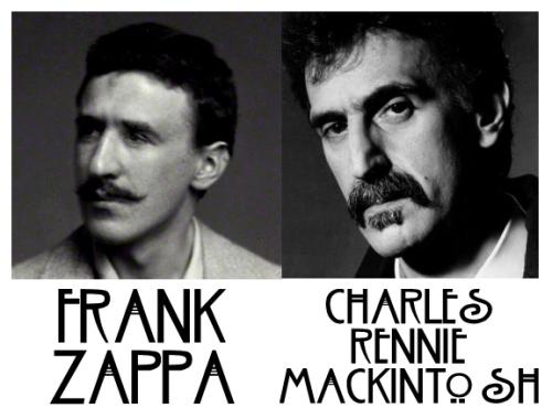 charles rennie mackintosh frank zappa