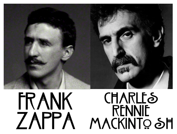charles rennie mackintosh frank zappa