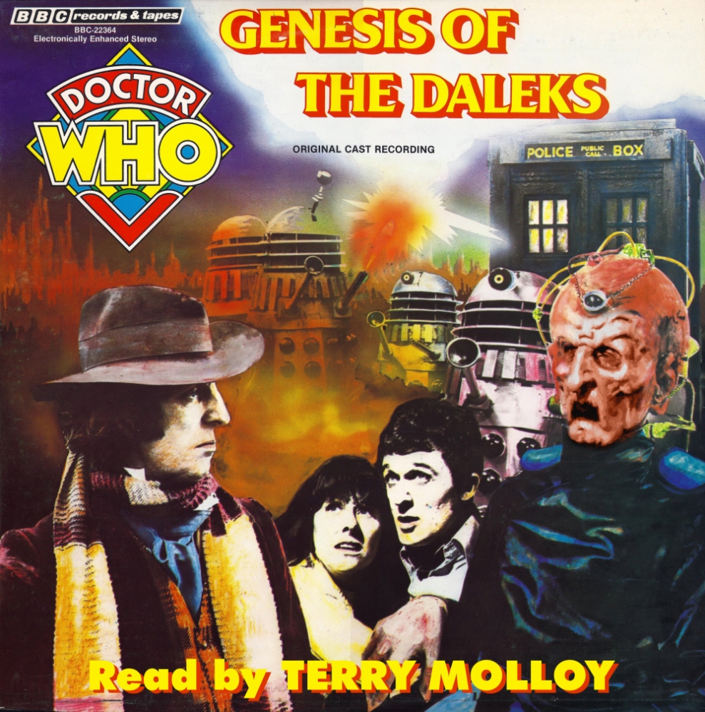 Genesis of the Daleks Audiobook Terry Molloy
