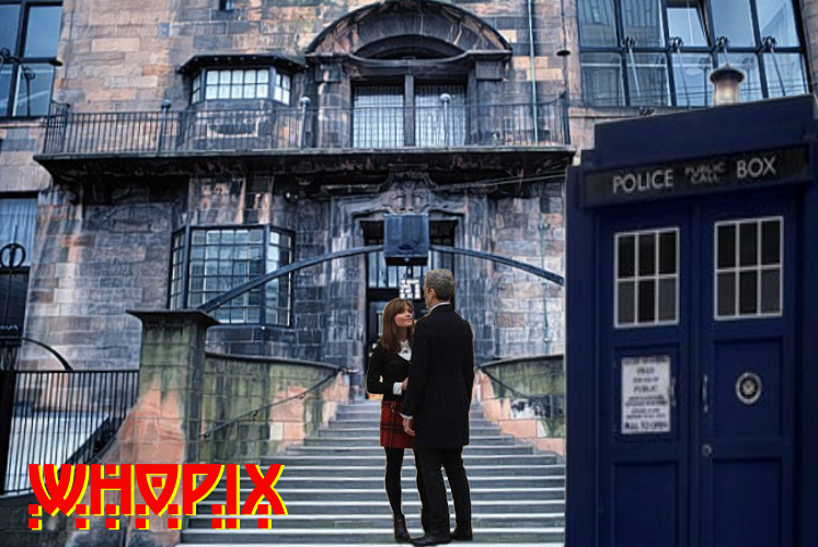glasgow school of art tardis