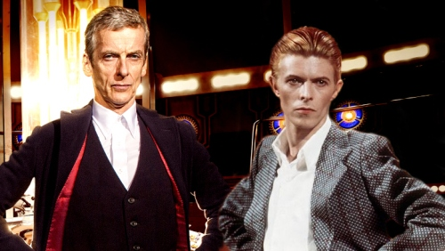 doctor who peter capaldi david bowie
