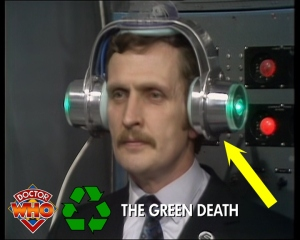 doctor who recycling green death