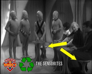 doctor who recycling sensorites