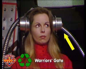 Doctor Who Recycling Warriors Gate