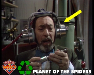dr who recycling spiders
