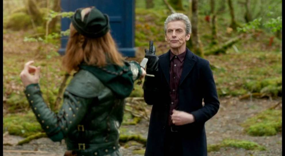 doctor who robot of sherwood finger