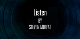 dr who listen title credit
