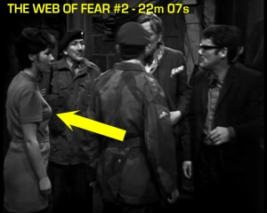web of fear blooper 03
