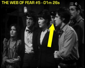 web of fear blooper 05