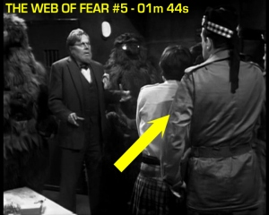 web of fear blooper 06