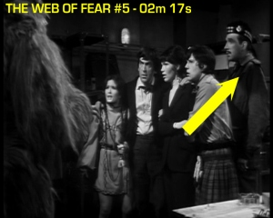 web of fear blooper 07