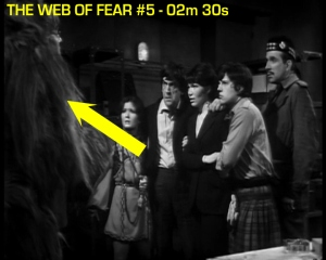 web of fear blooper 08