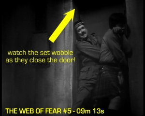 web of fear blooper 11
