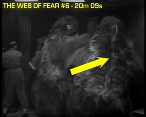 web of fear blooper 16