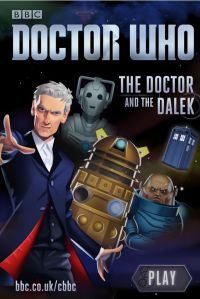 Doctor and the Dalek CBBC Coding Game