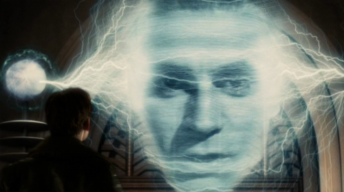 Laurence Olivier recreated via CG in Sky Captain and the World of Tomorrow [2004]