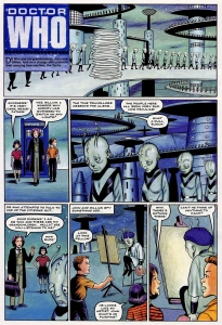 Dr Who Land Happy Endings 1