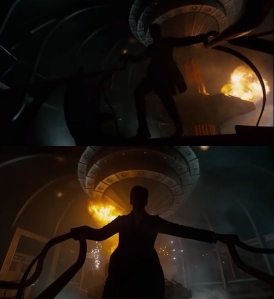 series eight exploding tardis
