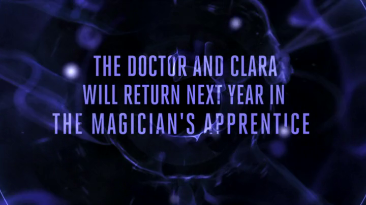 Dr Who Magician's Apprentice 2015