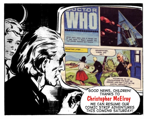 dr who tv comic