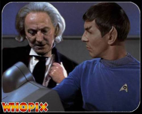 doctor who star trek hartnell nimoy